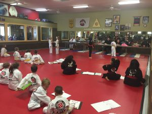 Kids Karate Belt Promotion
