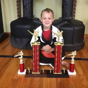 kid's Karate trophies